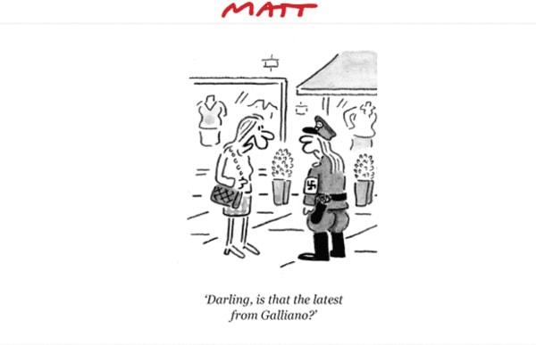 Galliano fashion satire