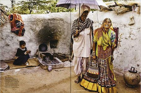 Vogue india peasants shoot