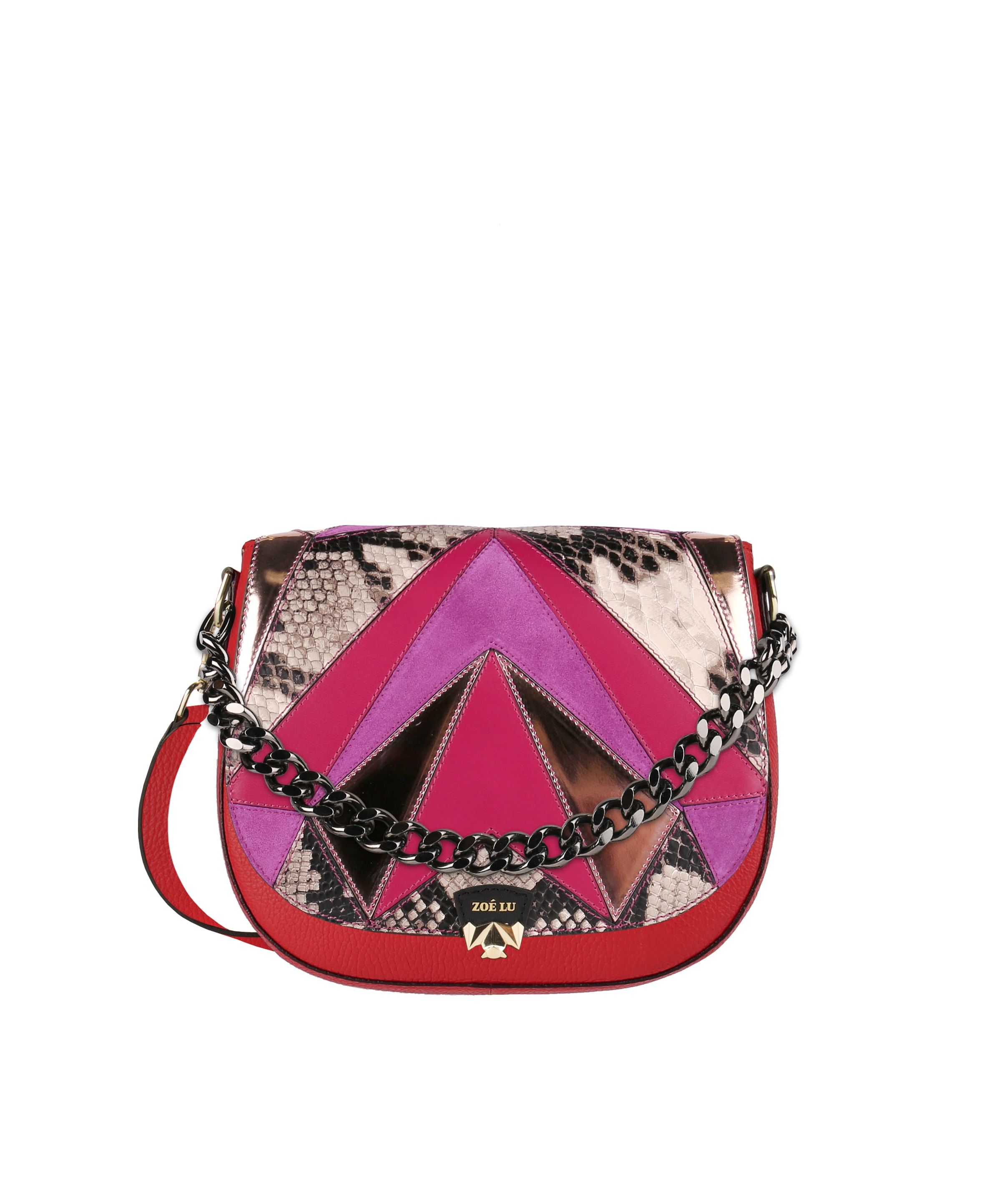 zoe-lu-tasche-red-silly-saturday-fuchsia-mix-pimp-up-gunmetal